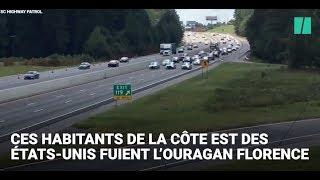 Aux Etats-Unis, l'autoroute ouverte à contre-sens pour fuir l'ouragan Florence