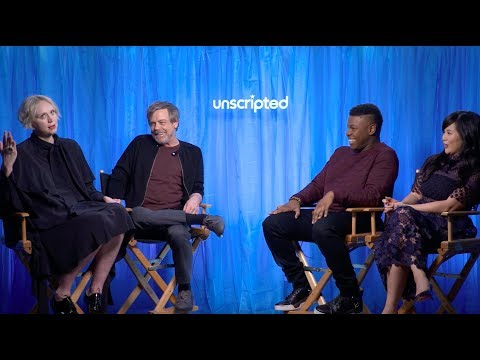 'Star Wars: The Last Jedi'  Unscripted  John Boyega, Gwendoline Christie, Mark Hamill, Kelly Tran