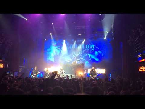 Sabaton - Joakim Plays The Guitar & Resist And Bite, Live In Athens 30.01.2015 (lyrics)