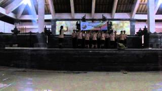padus Lagu Kaden Saje ,, SMK N 3 Singaraja Saka Dirgantara Peransaka Daerah Bali Tahun 2014