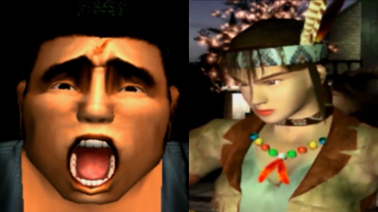 tekken tag tournament: arcade mode - ganryu & michelle chang - youtube