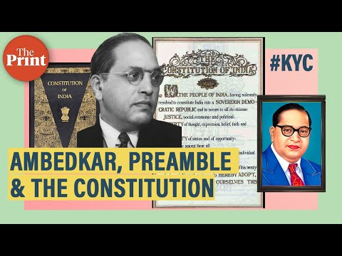 How Did The Constitution Come Into Force, Why Is The Preamble Special, And Babasaheb Ambedkar