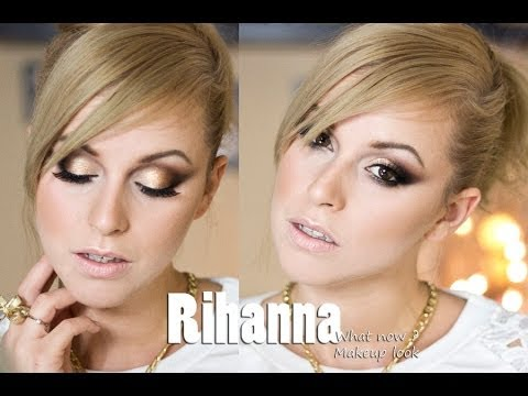 Rihanna - What now - INSPIRED MAKEUP LOOK