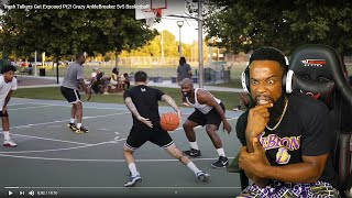 I Admit..I CANT GUARD HIM!! Trash Talkers Get Exposed Pt 2! Crazy Ankle Breaker 5v5 Basketball!