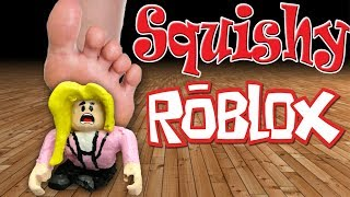 DIY ROBLOX SQUISHY TOYS! (Sis vs Sis)