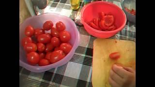 Вяленые помидоры. Очень вкусно.