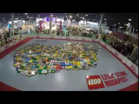 LEGO Store Budapest - Magyarország térkép 1 millió LEGO kockából ... b9fb7424e9