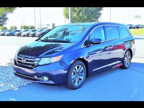 2016 Honda Odyssey Touring Elite Start Up, Review and Tour