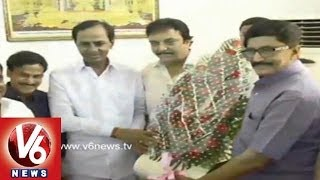 Top Tollywood Personalities Queued up to Meet TRS Chief KCR - Hyderabad