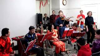"""Cluck Old Hen"" with Chinese instruments"