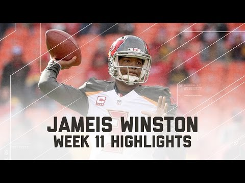 Jameis Winston Throws for 331 Yards & 1 TD! | Bucs vs. Chiefs | NFL Week 11 Player Highlights