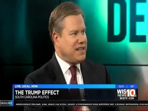 Mike Campbell with political analysis for WIS TV