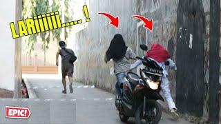 PRANK LARI KOCAR KACIR WKWKWKWK | Prank Indonesia thumbnail