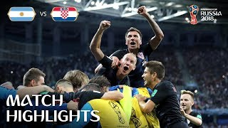 Argentina v Croatia | 2018 FIFA World Cup | Match Highlights