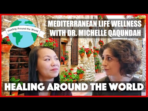 Healing Around the World Project - Dr  Michelle Qaqundah, Lucca, Italy