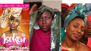 TRYING GELE (HEAD TIE) STYLES FROM THE MOVIE ISOKEN