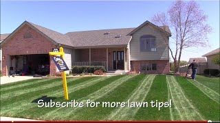 Lawn Striping|how To Mow Stripes In Your Lawn