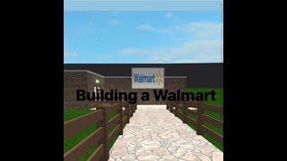 Building g Walmart! (Bloxburg, Roblox)
