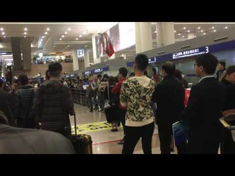 9 - Shanghai: Arrival Hall In Pudong Airport (PVG)