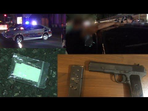 Տեսանյութ.Ուժեղացված ծառայություն Երևանում. հայտնաբերվել են հրազեններ, թմրամիջոցներ, սառը զենքեր. կան ձերբակալվածներ