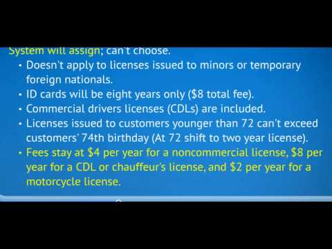 Iowa's five- to eight-year driver's license transition