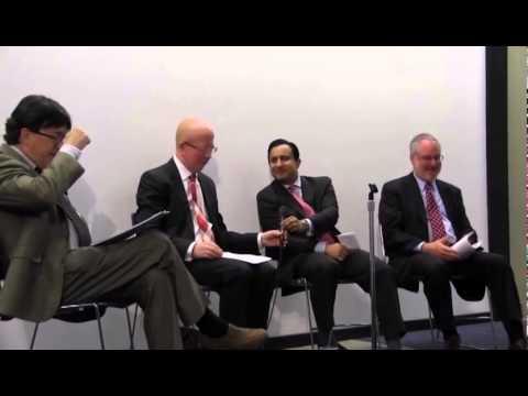 Trade panel discussion at Drake