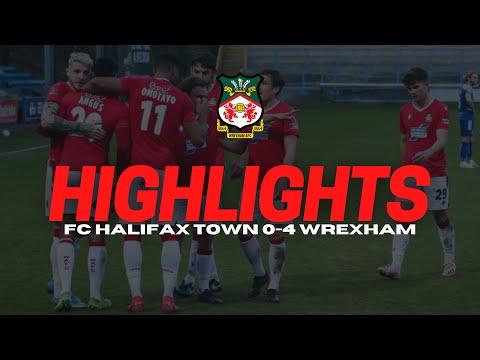 Halifax Wrexham Goals And Highlights