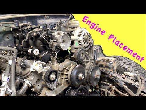 Jeep TJ LS Swap Motor Mounts Install