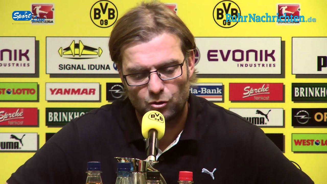 BVB Pressekonferenz vom 18. Oktober 2012 vor dem Revierderby zwischen Borussia Dortmund und S03+1