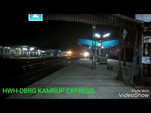 EMD action 15959 UP HWH-DBRG KAMRUP EXPRESS blasting at BANSBERIA with HWH WDP4D#40389.....