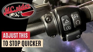 Have you made this simple adjustment on your motorcycle?