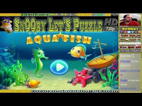 Aqua Fish - Dein eigenes Aquarium - SnQQby Let's Puzzle #1