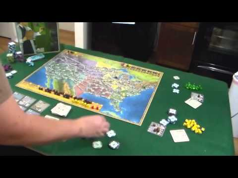 Board Game Review And Gameplay Demo - Power Grid