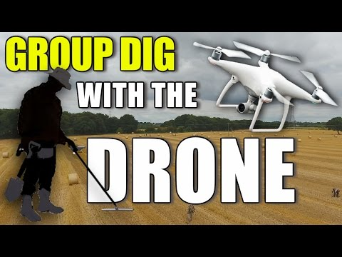 Phantom 4 Drone 'Find Of The Day' Metal Detecting Hunt