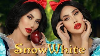SNOW WHITE MAKEUP TUTORIAL | BrittanyBearMakeup