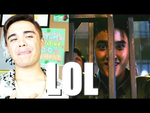 EXO Lotto MV Reaction [BODY ROLL COMPETITION!]