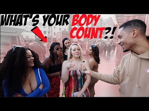 """""""WHAT'S YOUR BODY COUNT?!"""" Public Interview In Hollywood!"""