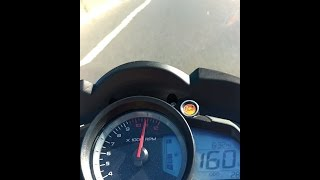 Rouser RS 200 Top Speed 160 km/h (Corona 39 dientes)