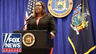 NY AG Letitia James sues NYPD over civil rights abuses