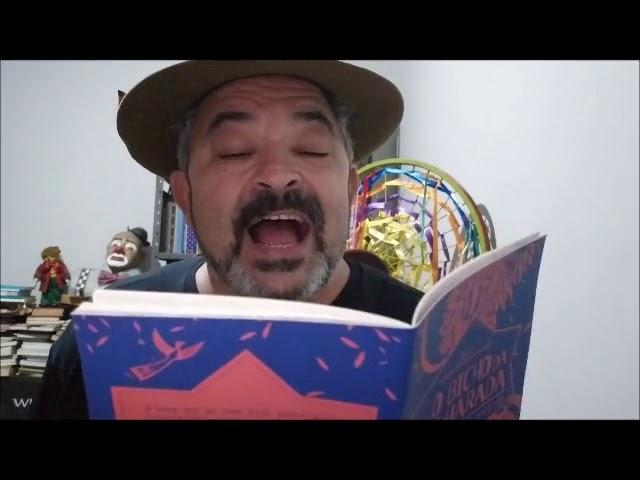 """4ª edição BML na Sua Casa - Cordel: """"O bicho da folharada""""."""