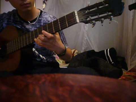 ngoi nha hanh phuc - thuy tien guitarsolo