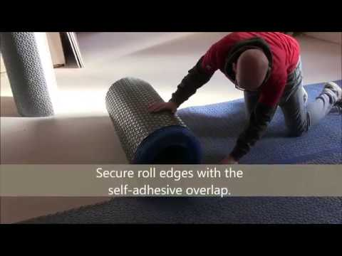 How To Install BAL Flexbone 2Easy Floating Uncoupling Mats