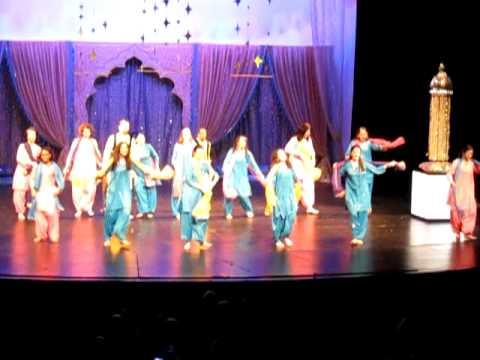 Dance performance on hit punjabi song