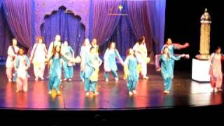 Dance performance on hit punjabi song