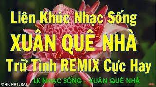 LK Nhạc Sống ll Xuân Quê Nhà ll Trữ Tình Remix Đậm Chất Quê Hương