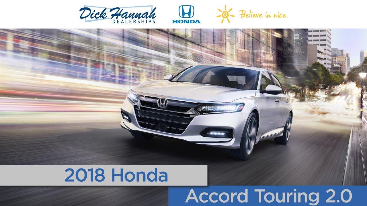 2018 Honda Accord 2.0 Touring Review   Dick Hannah Honda