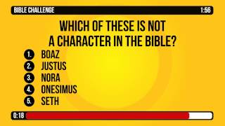 General Bible Trivia Countdown Video