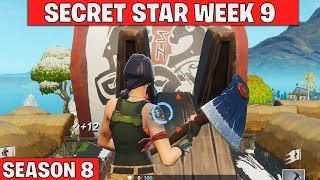 Secret battle star week 9 - Fortnite season 8
