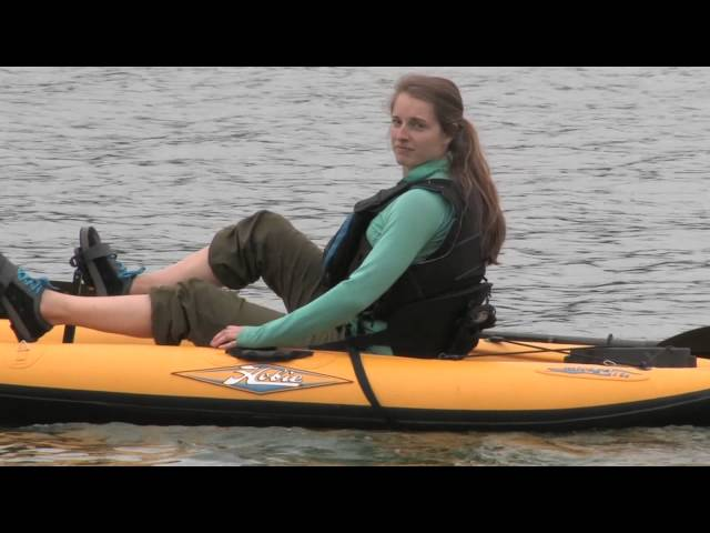 Hobie Mirage i9S Inflatable Pedal/Paddle Sit-on-Top Kayak | Review | Adventure Kayak | Rapid Media