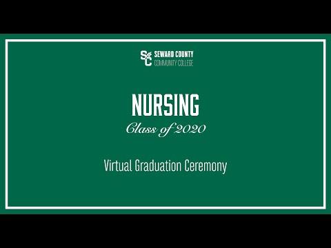 Seward County Community College Virtual Graduation Ceremony for Nursing Level I and II Class of 2020